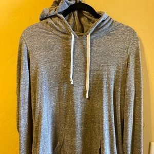 Women's American Eagle Gray Hoodie. Size Large